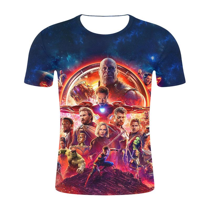 Womens Shirts Aven-gers End War Game Womens Short Sleeve T-Shirts Girls Tee Shirt Summer Tops